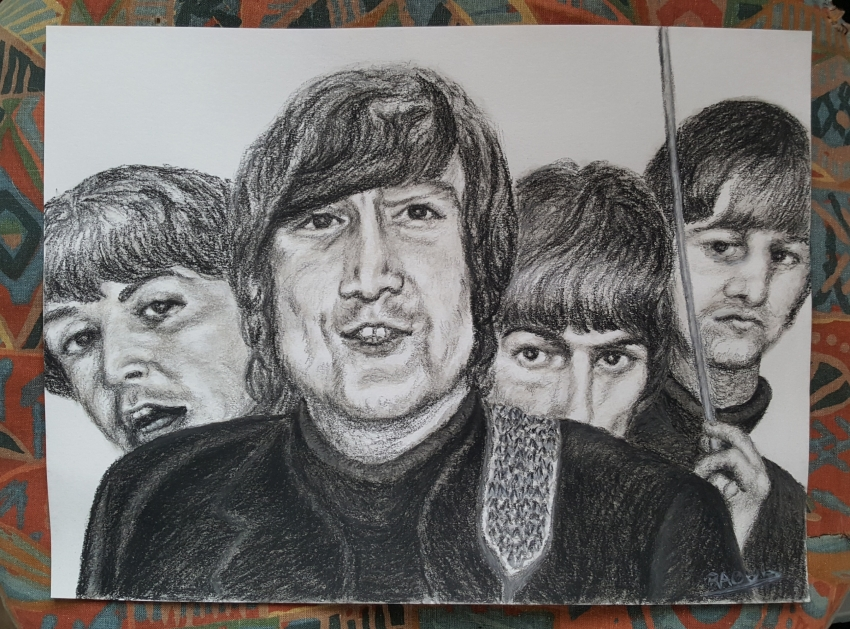 The Beatles by Raoul.G